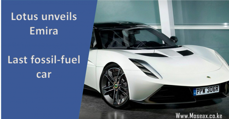 Lotus Unveils its last petrol car, before it goes full Electric!